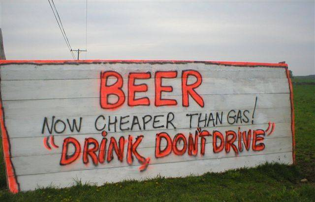 Drink, Don't Drive!