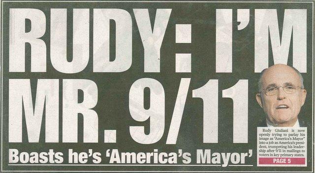 Giuliani: Mister 9/11