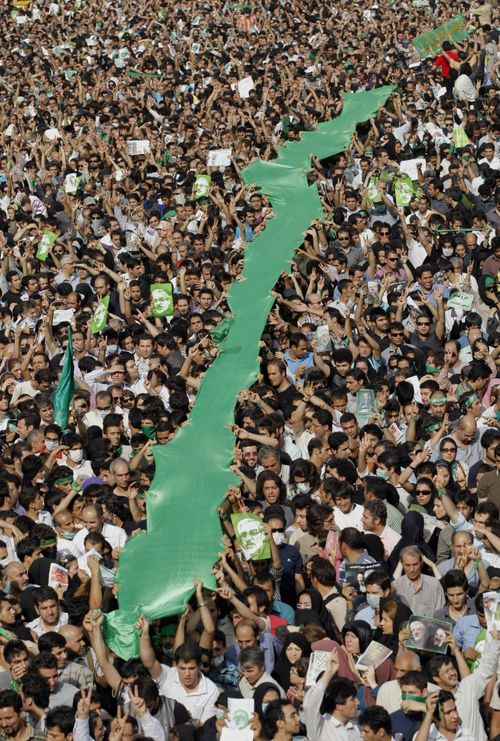 the green revolution in iran Though it had the potential to turn violent, iran's green movement was  determined to seek dialogue with the state in doing so, it put back in the.